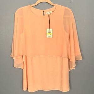 NWT Pink Flutter Sleeve Too